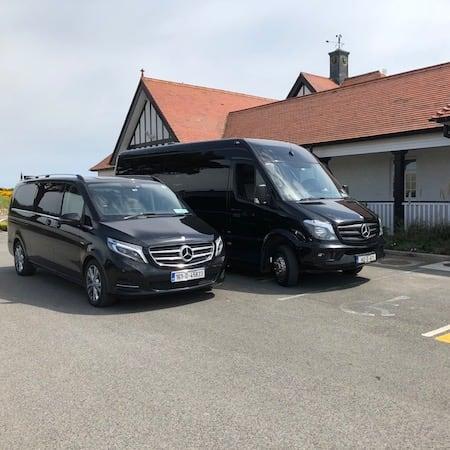Mpv and Sprinter Portmarknock GC - Allied Coaches